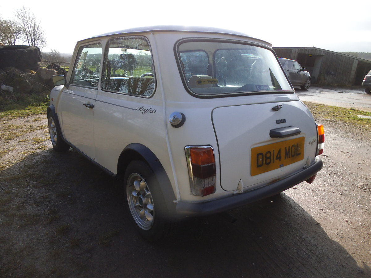 1986 MINI MAYFAIR ONE PREVIOUS OWNER FROM NEW For Sale (picture 3 of 6)