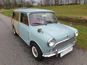 1965 Mini MKI Countryman   On Beaulieu car market For Sale