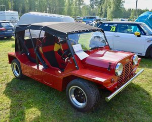 1966 Mini Moke -66, rebuilt and widened