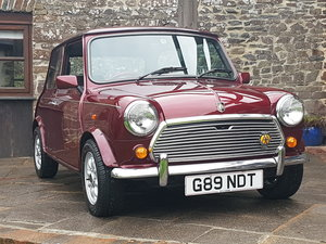 1989 Stunning Mini 30 LE On Just 2510 Miles In 30 Years!! For Sale