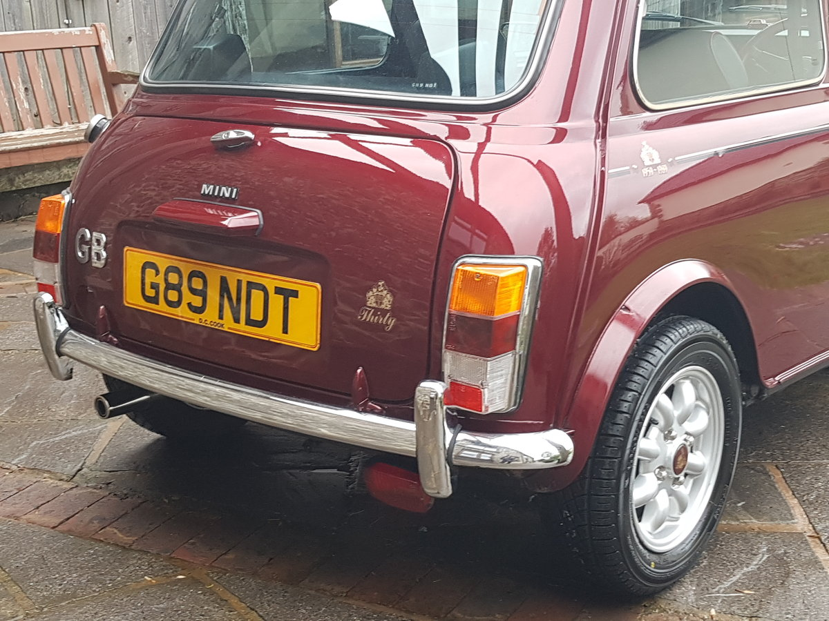 1989 Stunning Mini 30 LE On Just 2510 Miles In 30 Years!! SOLD (picture 3 of 6)