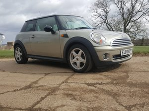 2007 Mini One 1.4 Full Leather For Sale