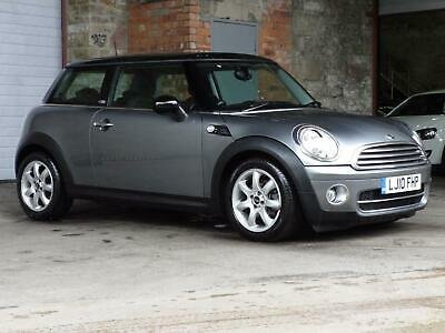 2010 Mini Hatch Cooper 1.6 Cooper D Graphite 3DR For Sale (picture 1 of 6)