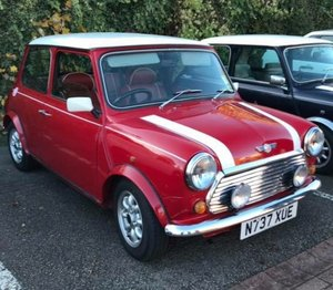 1996 Mini cooper  with red leather interior For Sale