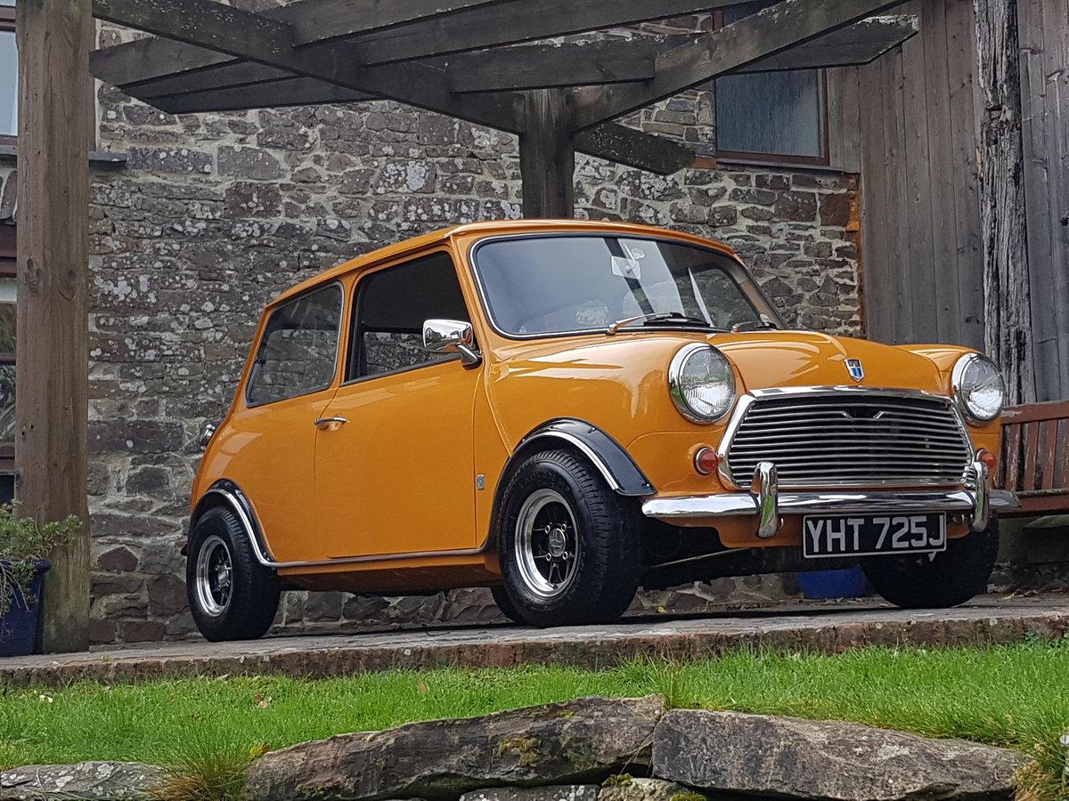 Amazing 1970 Mk 3 Fast Road 1330 cc Mini. For Sale (picture 1 of 6)