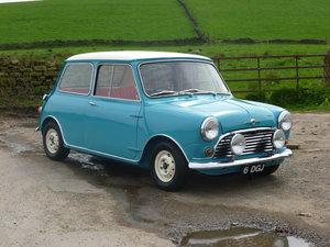 Morris Mini Cooper 1962 Surf Blue/white For Sale