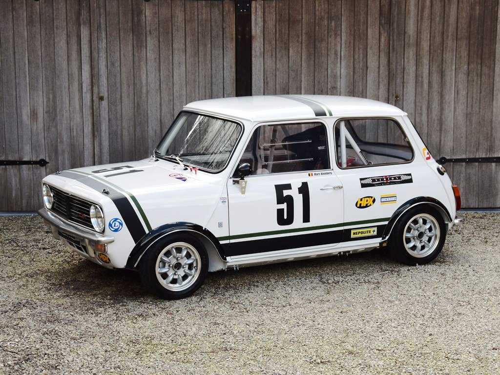1971 Mini Clubman 1275 GT Group 2 historic racecar For Sale (picture 1 of 6)