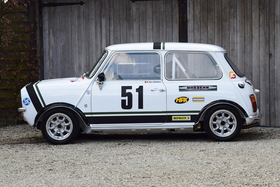 1971 Mini Clubman 1275 GT Group 2 historic racecar For Sale (picture 2 of 6)