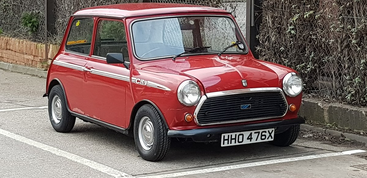 1981 Mini City 1275 fast road SOLD (picture 1 of 5)