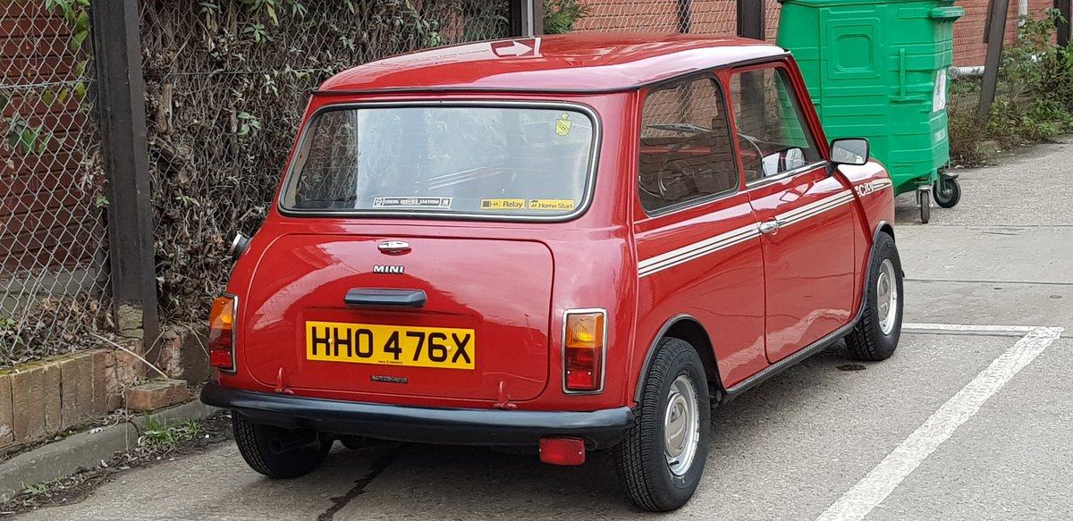 1981 Mini City 1275 fast road SOLD (picture 2 of 5)
