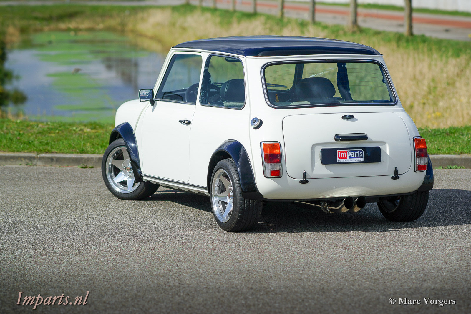 1985 Classic Mini Cooper 1275 Outlaw LHD For Sale (picture 6 of 6)
