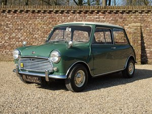 1968 Austin Mini Cooper S 1275 Mk2 only 98.940 km, Original Dutch