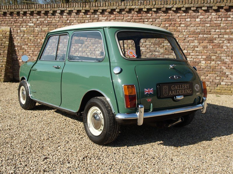 1968 Austin Mini Cooper S 1275 Mk2 only 98.940 km, Original Dutch For Sale (picture 2 of 6)