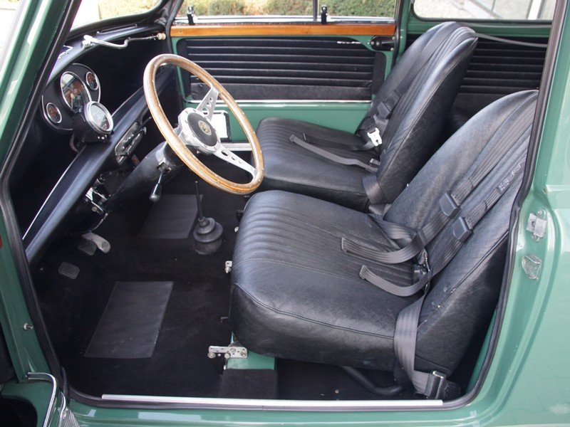 1968 Austin Mini Cooper S 1275 Mk2 only 98.940 km, Original Dutch For Sale (picture 3 of 6)