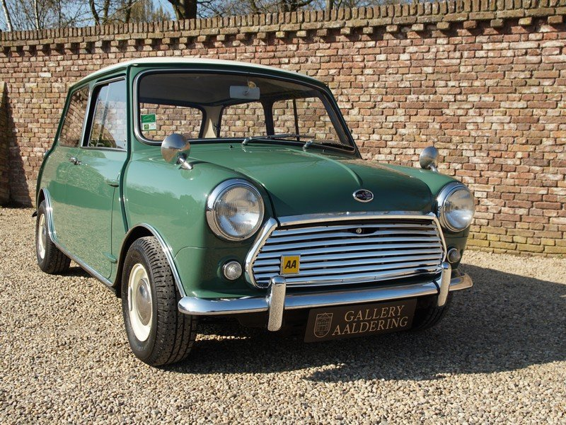 1968 Austin Mini Cooper S 1275 Mk2 only 98.940 km, Original Dutch For Sale (picture 5 of 6)