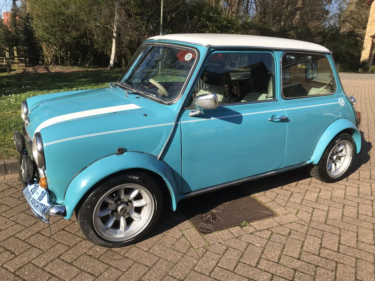 1997 Rover Mini Cooper MPi Surf Blue For Sale (picture 4 of 6)