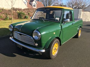 1979 Mini Pickup Custom uprated with MG Metro 1300 engine
