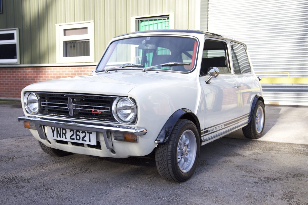Genuine And Rare 1978 Mini 1275 Gt Sold Car And Classic
