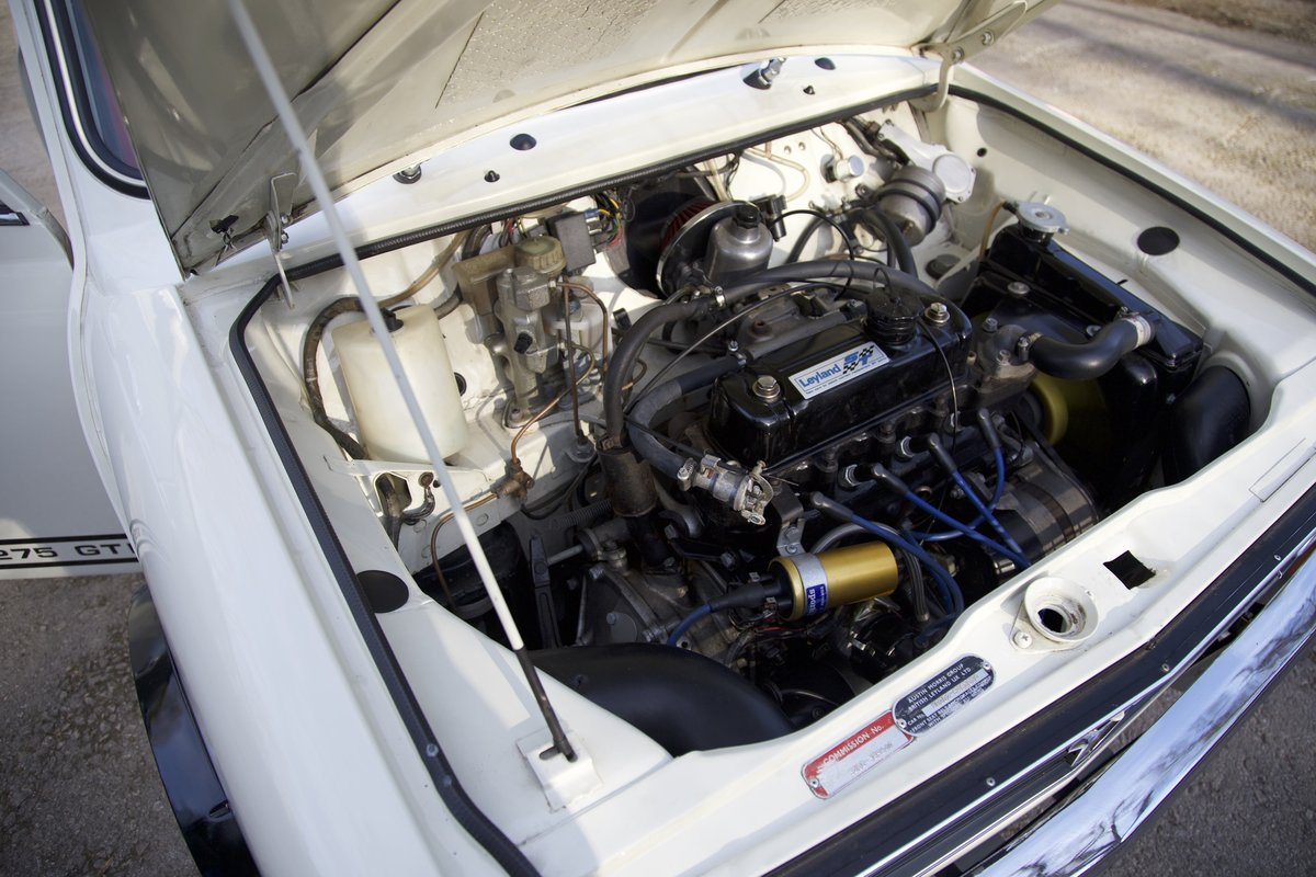 Genuine and rare 1978 Mini 1275 GT  SOLD (picture 5 of 6)