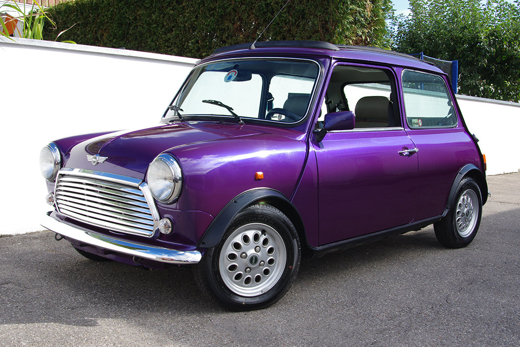 1997 Mini 1300 - fully restored - 2 owners - fsh - LHD For Sale (picture 1 of 6)