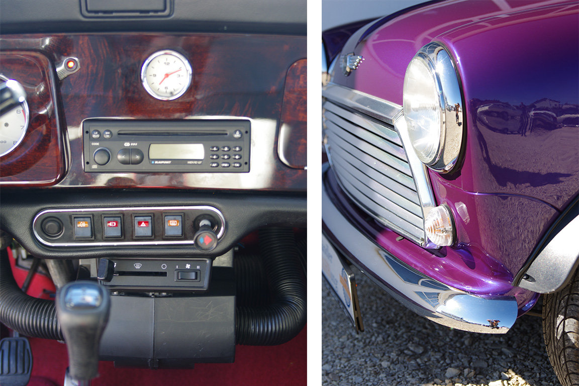 1997 Mini 1300 - fully restored - 2 owners - fsh - LHD For Sale (picture 5 of 6)