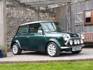 2001 Outstanding Mini Cooper Sport 500 On 630 Miles From New! SOLD