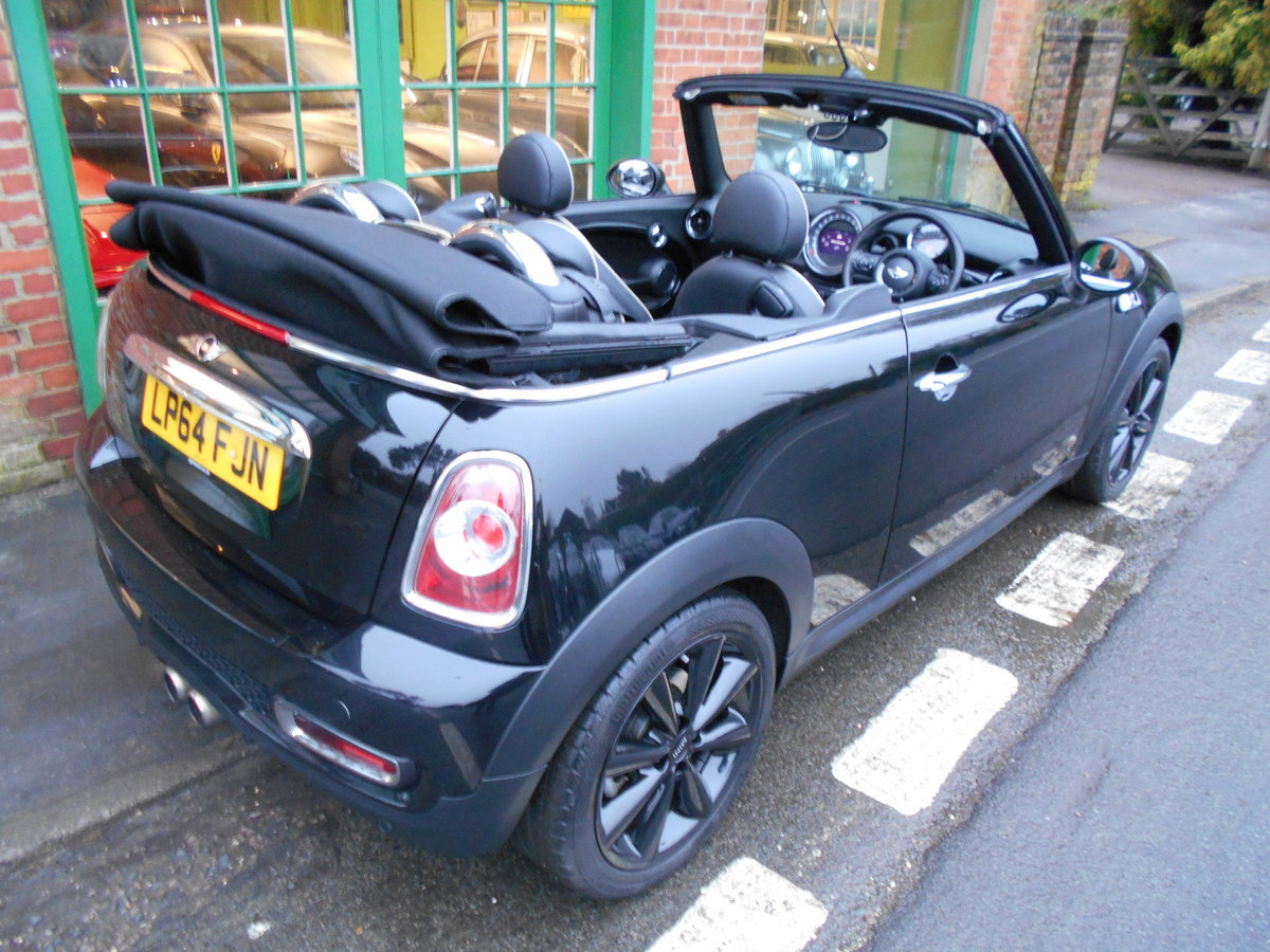 2015 Mini Cooper S Convertible Automatic  SOLD (picture 2 of 6)