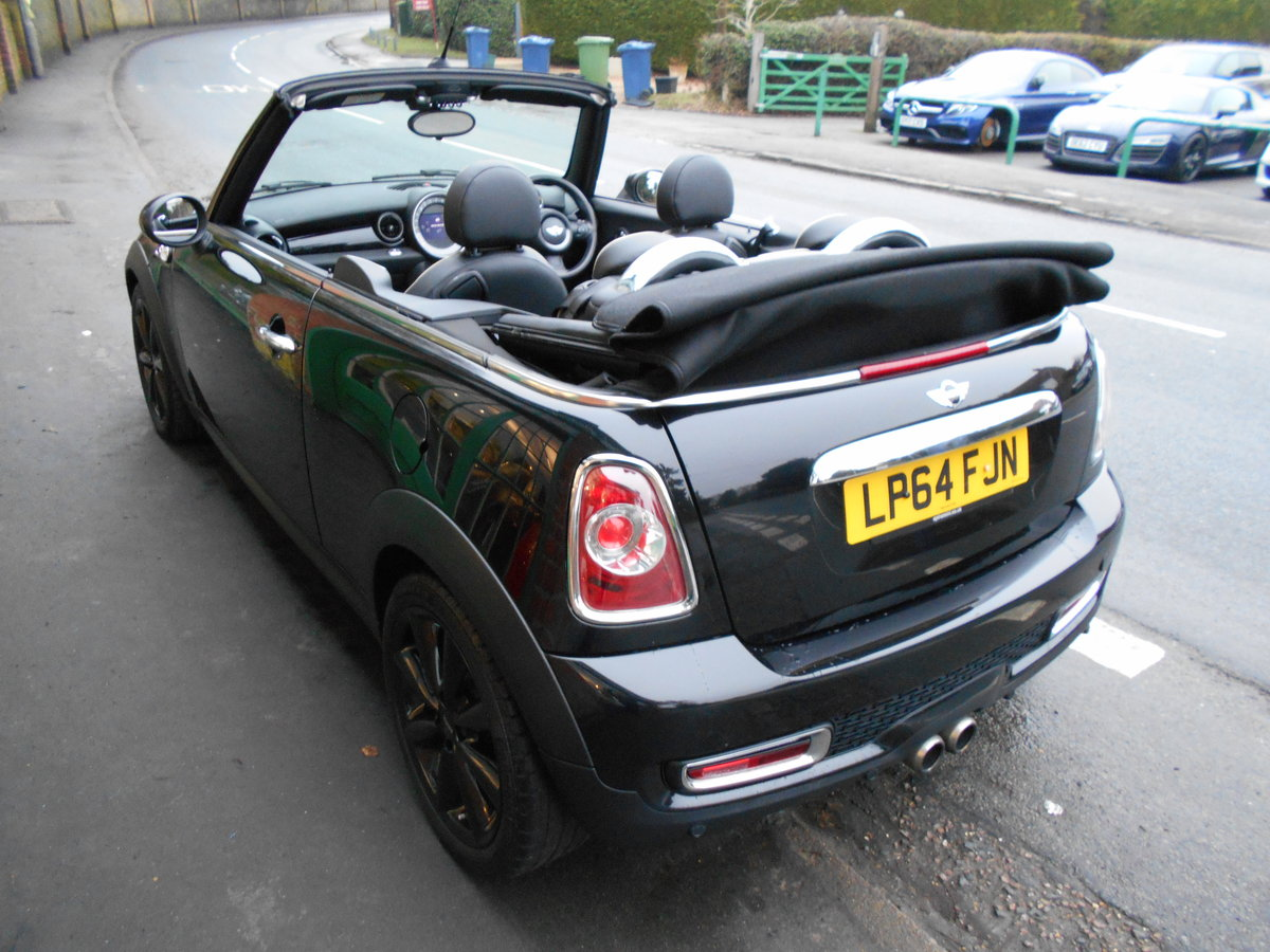 2015 Mini Cooper S Convertible Automatic  SOLD (picture 4 of 6)