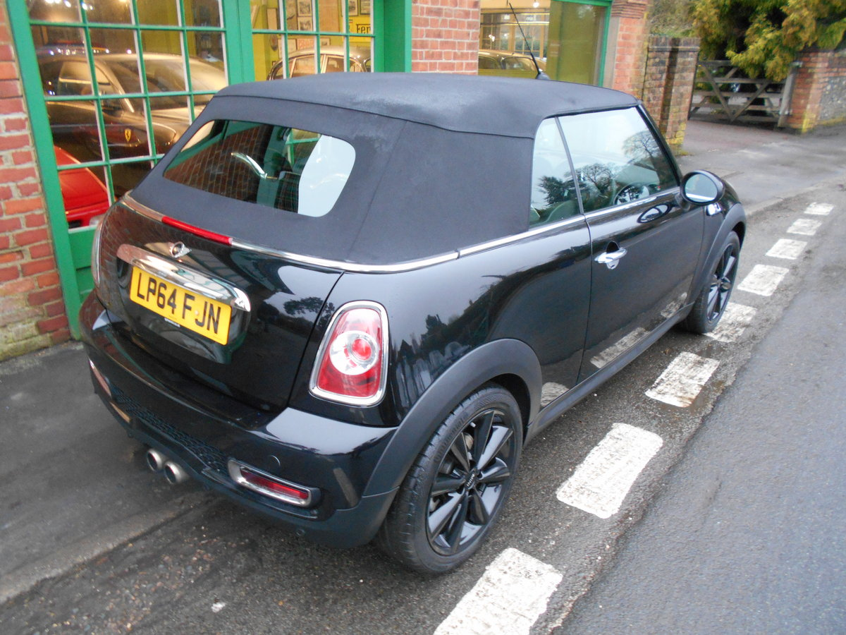 2015 Mini Cooper S Convertible Automatic  SOLD (picture 5 of 6)