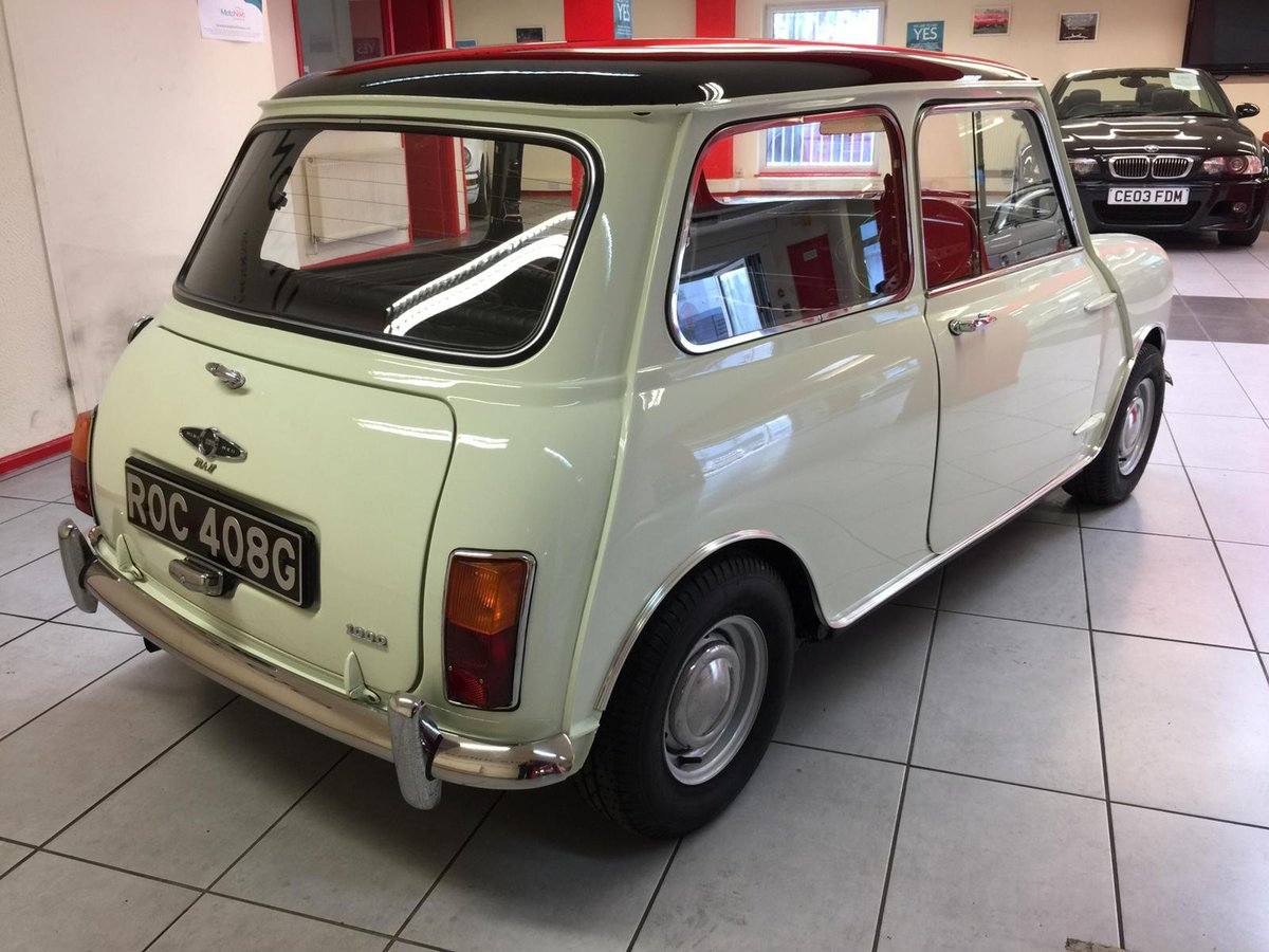 1969 AUSTIN MINI COOPER MK2  For Sale (picture 4 of 6)