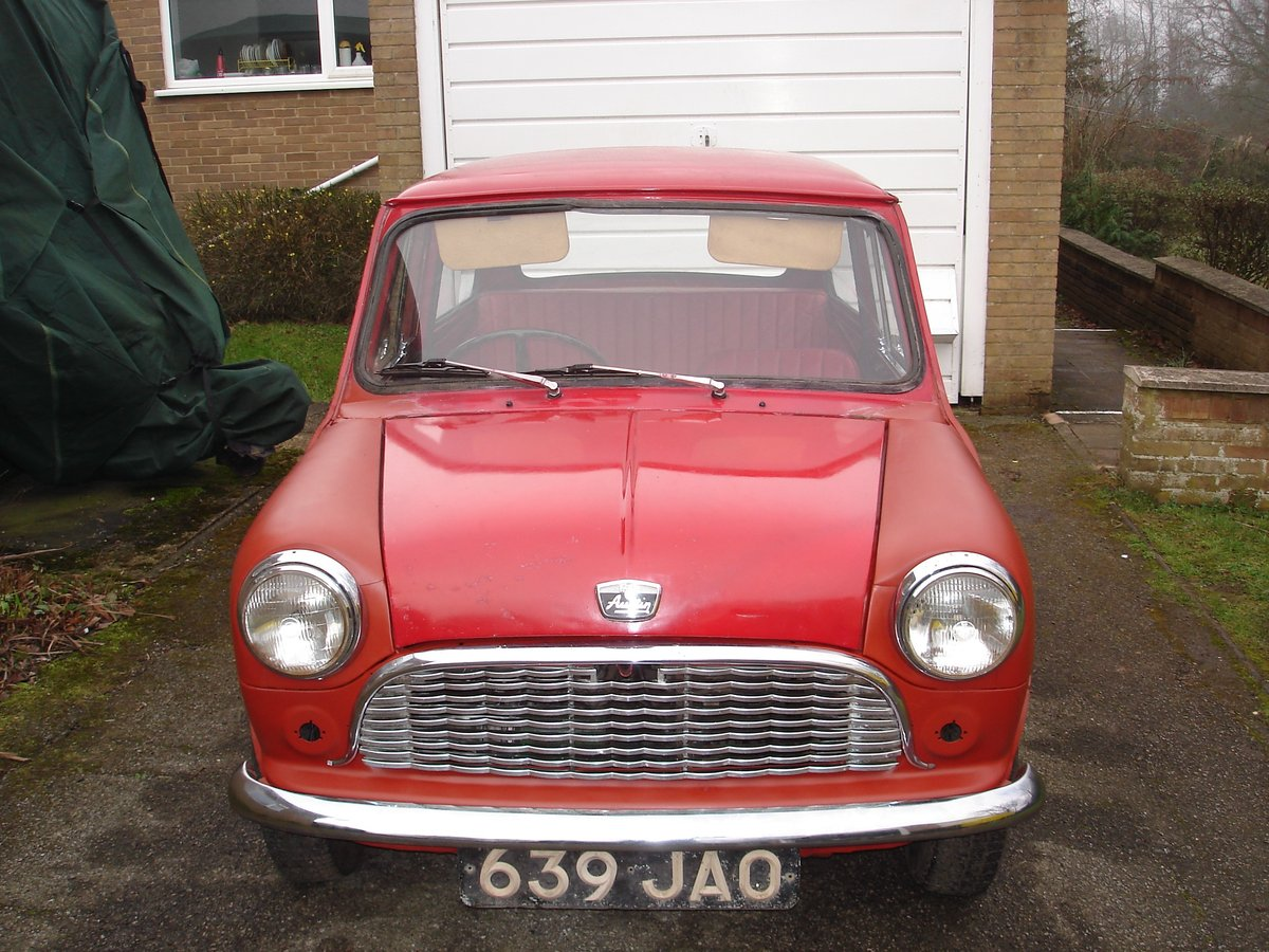 1962 Mark 1 Mini for restoration SOLD (picture 1 of 6)