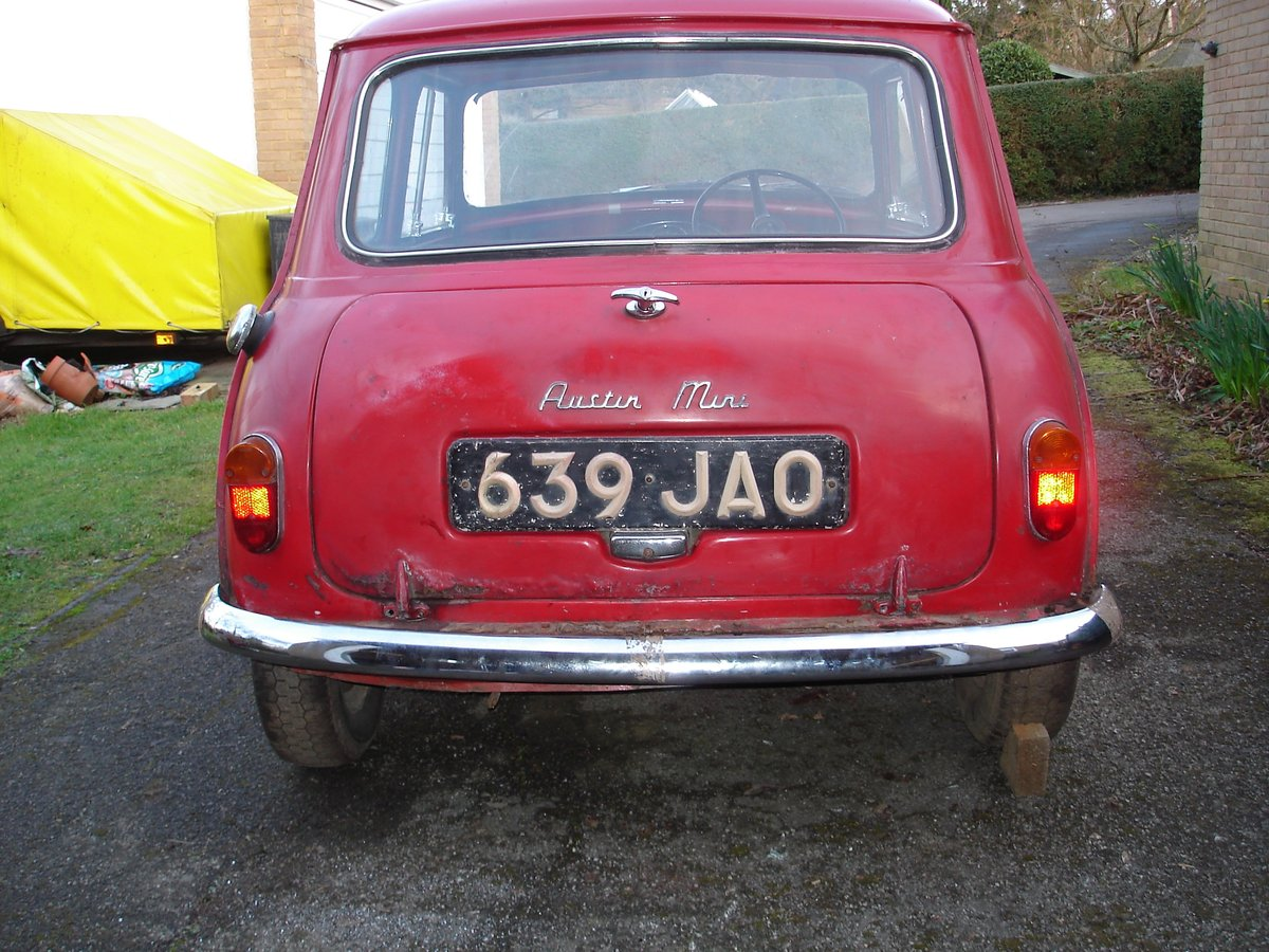 1962 Mark 1 Mini for restoration SOLD (picture 2 of 6)