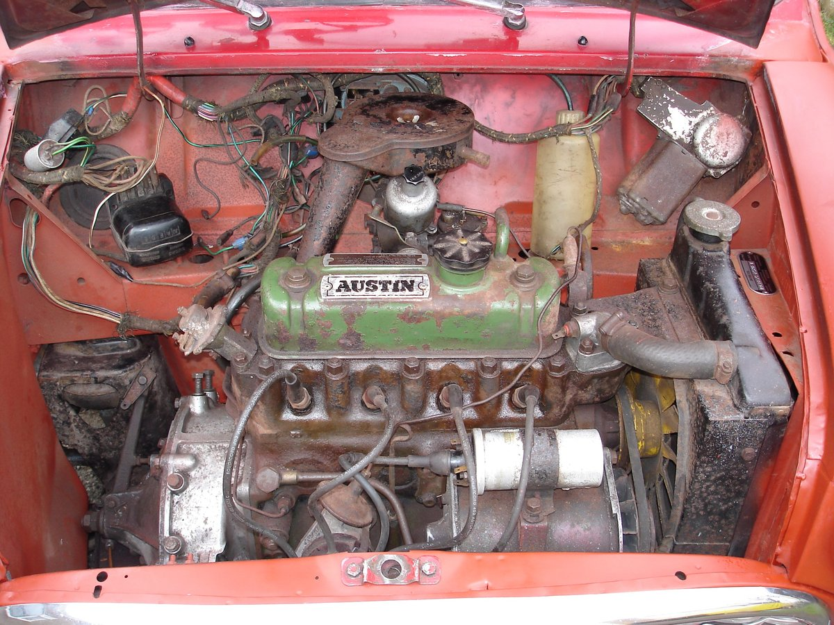 1962 Mark 1 Mini for restoration SOLD (picture 6 of 6)