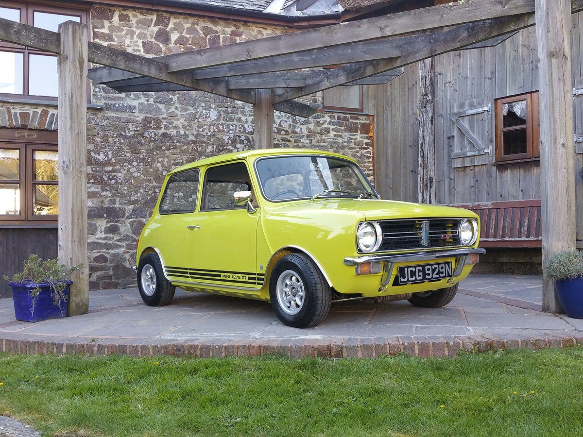 1975 Outstanding Mini Cooper 1275 GT In Citron Yellow! SOLD (picture 1 of 6)