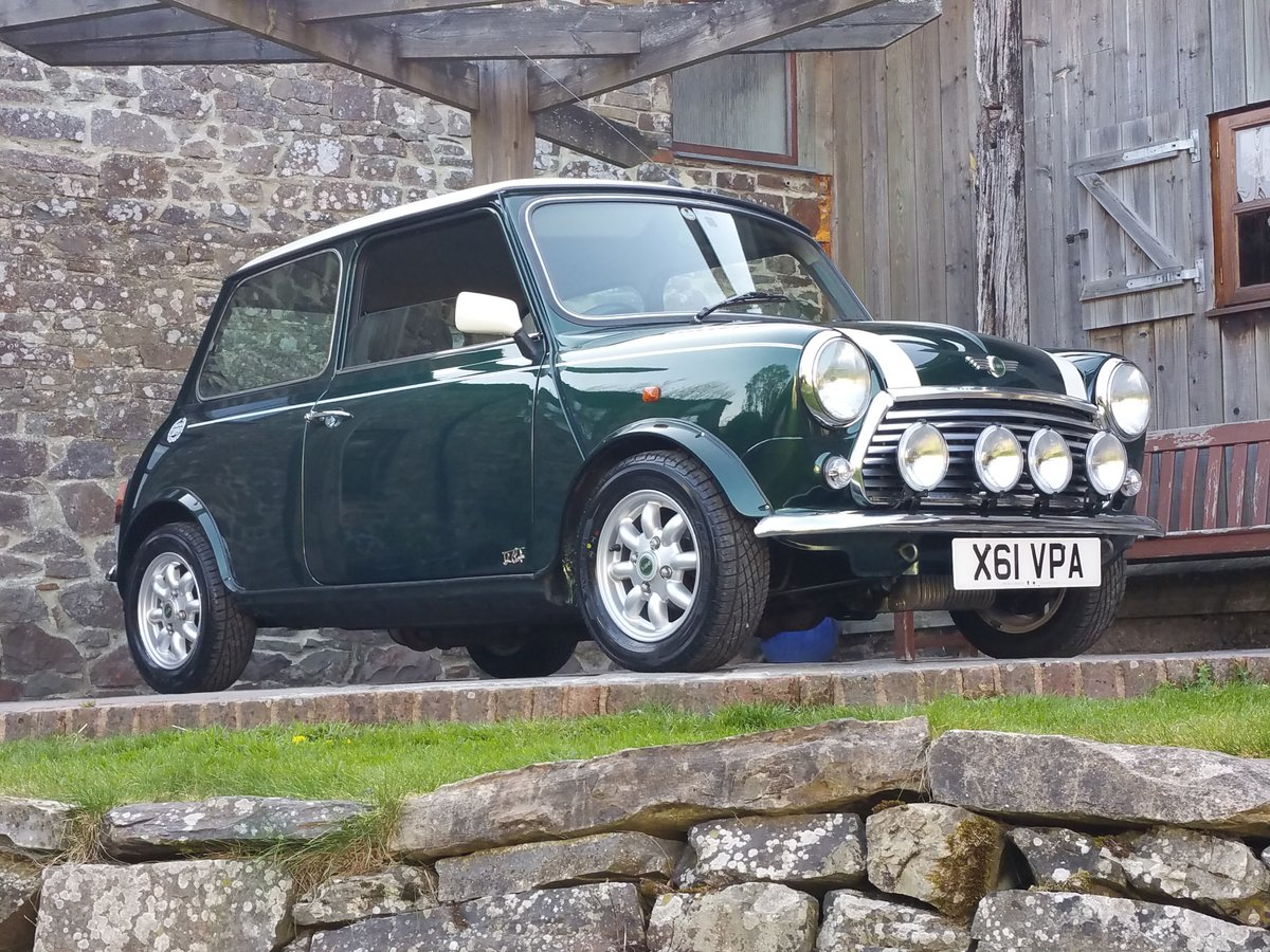2000 One Owner Last Edition Mini Cooper On Just 17300 Miles From  SOLD (picture 1 of 6)