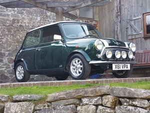 2000 One Owner Last Edition Mini Cooper On Just 17300 Miles From  SOLD