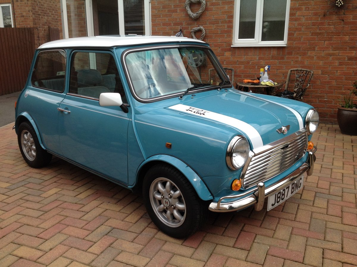1991 Mini Cooper .1340cc MED tuned 80 bhp. SOLD (picture 1 of 6)