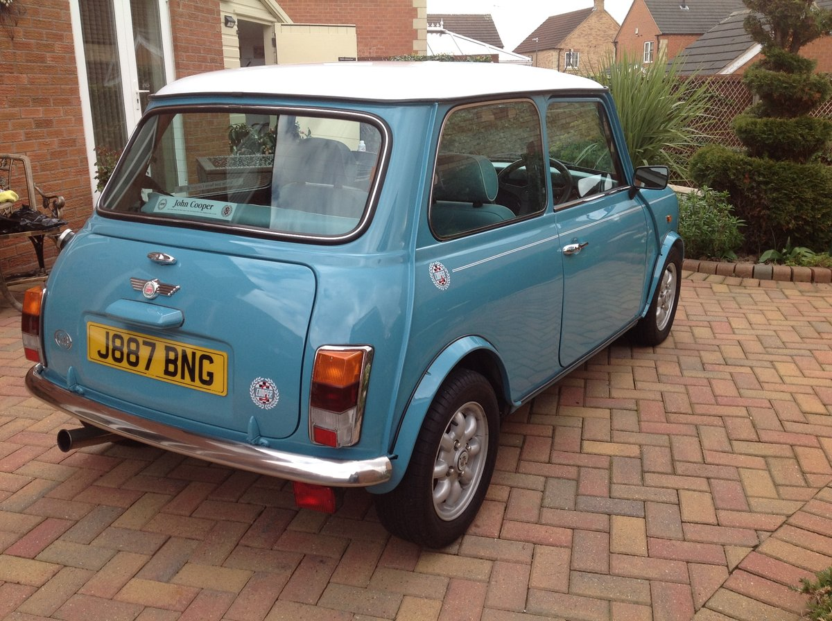 1991 Mini Cooper .1340cc MED tuned 80 bhp. SOLD (picture 2 of 6)
