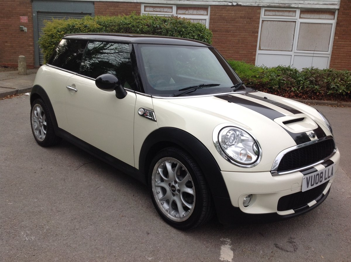 2008 MINI COOPER S 45000 FSH LADY DRIVER For Sale (picture 1 of 6)