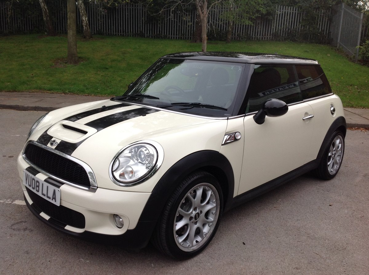 2008 MINI COOPER S 45000 FSH LADY DRIVER For Sale (picture 2 of 6)
