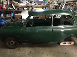 1962 Morris Mini 850 mk1 project