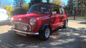 1991 Mini Cooper-Honda J-Tec engine nut and bolt resto
