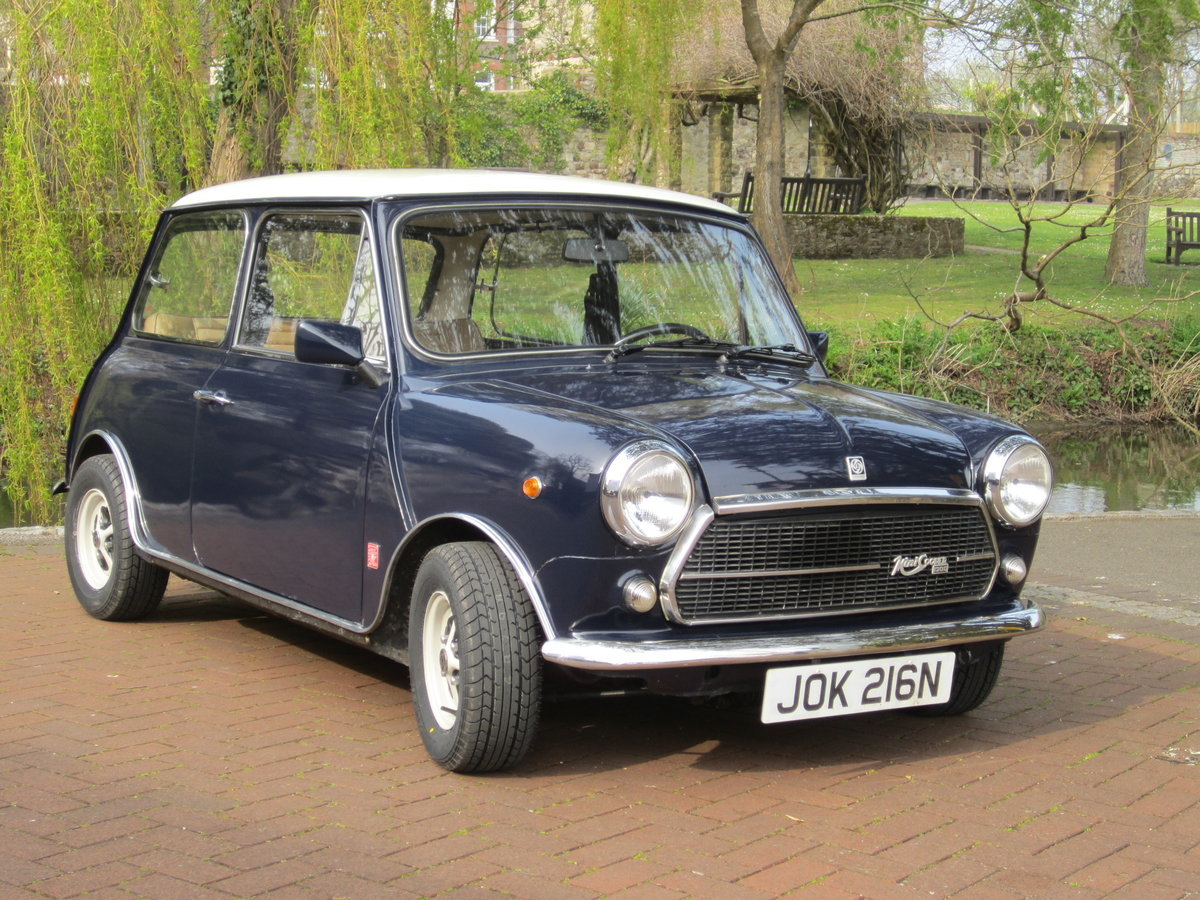 1974 Mini Cooper Innocenti 1300 Export For Sale (picture 1 of 6)