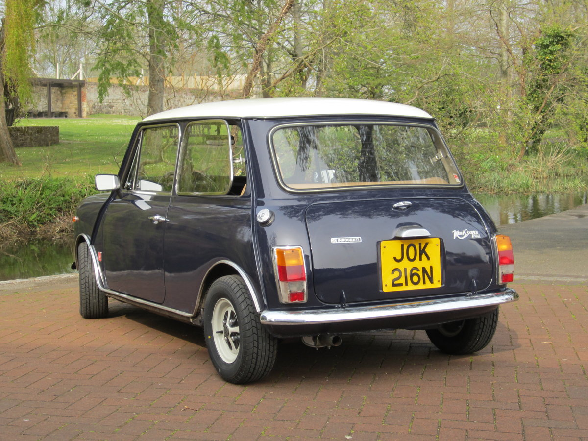 1974 Mini Cooper Innocenti 1300 Export For Sale (picture 2 of 6)