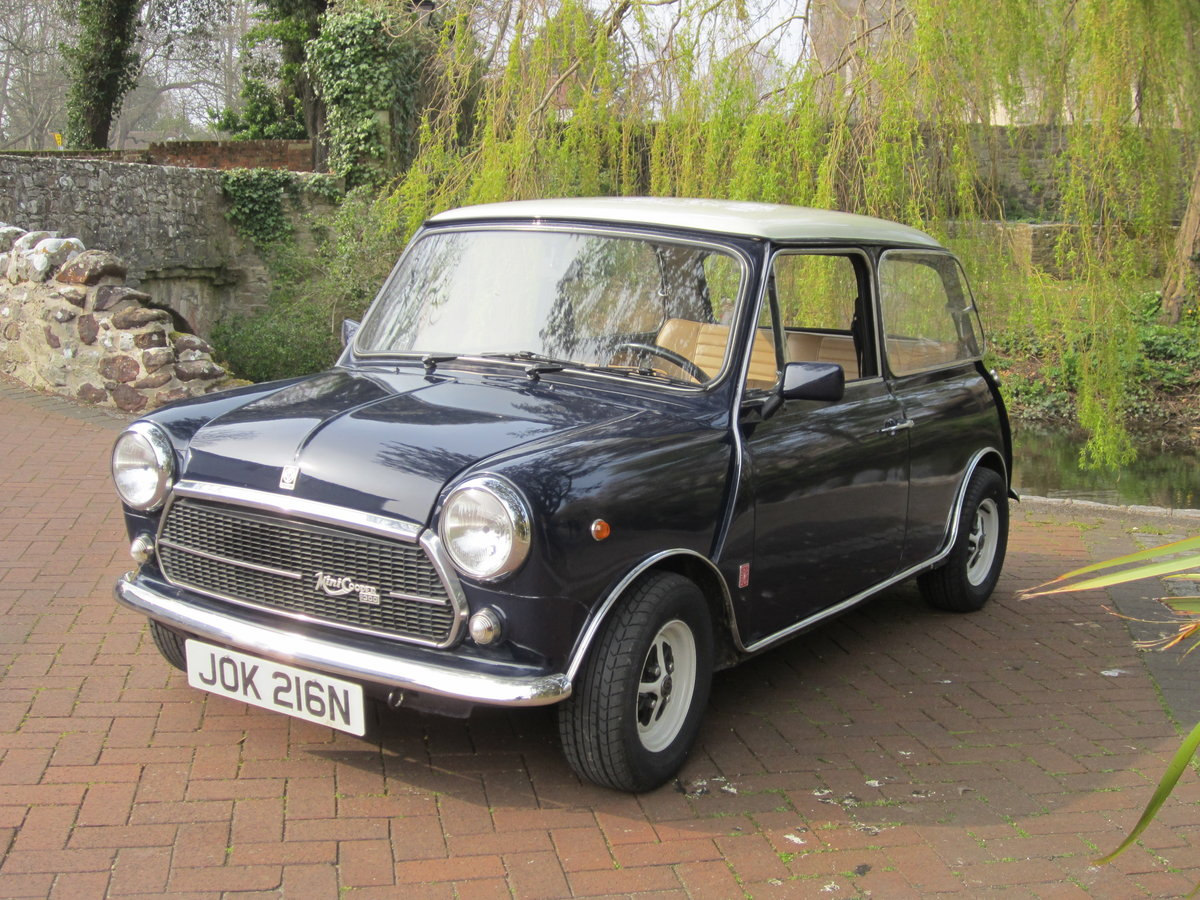 1974 Mini Cooper Innocenti 1300 Export For Sale (picture 3 of 6)