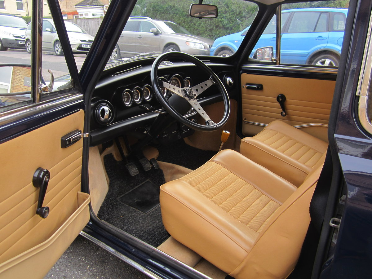 1974 Mini Cooper Innocenti 1300 Export For Sale (picture 4 of 6)
