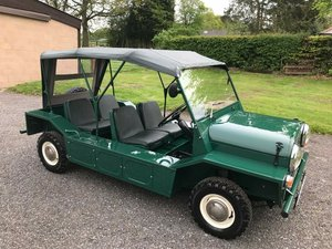 1964 MINI MOKE MK1 CONCOURS RESTORATION SIMPLY STUNNING!! SOLD