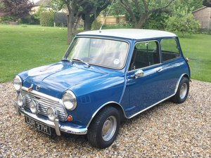 1969 Original and genuine Mini Cooper 998