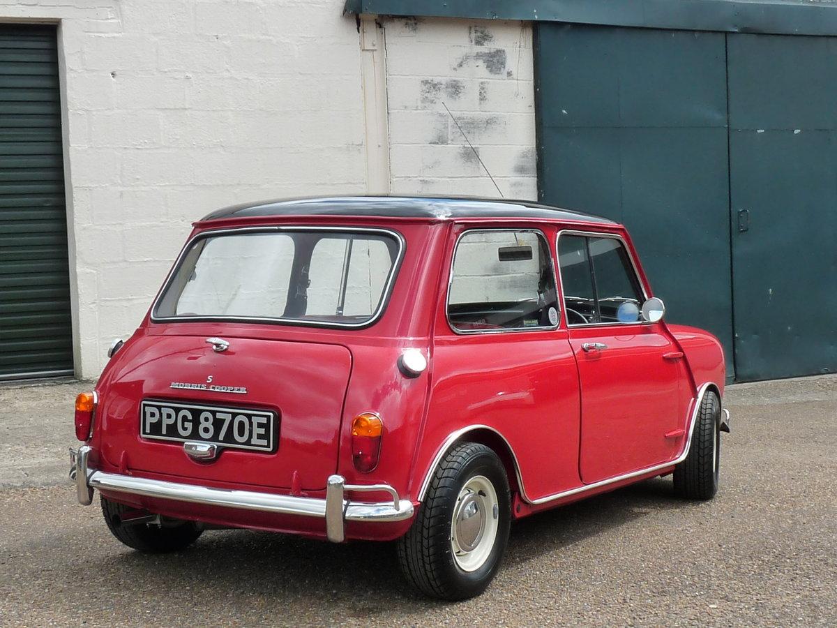 1967 Mini Cooper S Mk1, Sold For Sale (picture 2 of 6)