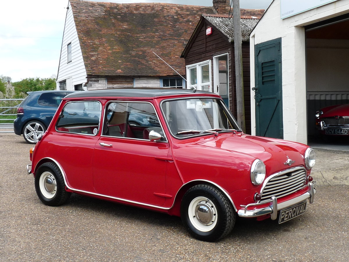 1967 Mini Cooper S Mk1, Sold SOLD (picture 5 of 6)